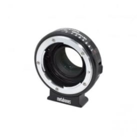 Metabones MB_SPNFG-BMCC-BM1 Nikon G to BMCC Speed Booster Black Matt