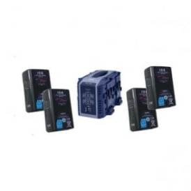 Idx EC-150/4S 4 x ENDURA CUE-150 Batteries, 1 x VL-4S Charger