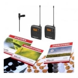 ew 112-p G3 GB wireless microphone kit Package B - Free stickies, undercovers and overcovers