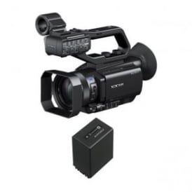 PXW-X70 XD Camcorder 4k featured with a battery package a