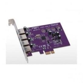 SON-USB3-4PME Allegro USB 3.0 PCIe Card 4 Ports