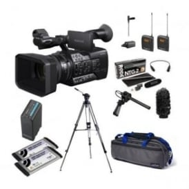 Sony PXW-X160 XDCAM with 25x Zoom lens Camcorder package f