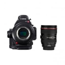 EOS C100 Mark II with Canon EF 24-105mm f/4L IS USM Lens