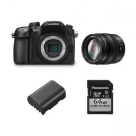 panasonic dmc gh4 lumix g compact camera dslm package f
