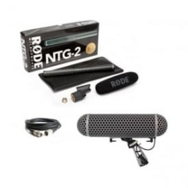 Rode NTG2 Shotgun Microphone Package D