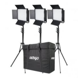 DVS-LEDGO-900LK3 Three LEDGO-900 Daylight Location Lighting Kit