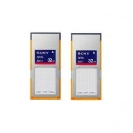 Sony 2SBS32G1B SxS 1B Memory Card Twin Pack for XDCAM