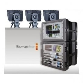 Blackmagic BMD-4KPPU 4K PPU Complete 3 Camera 4K Mobile Production Unit