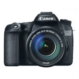 EOS 70D camera with EF-S 18-135mm f/3.5-5.6 IS STM Lens