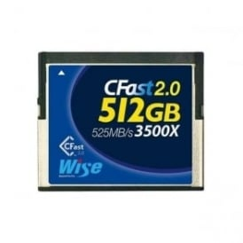 Blackmagic CFAST2512 Wise Advanced CFast Card - 512