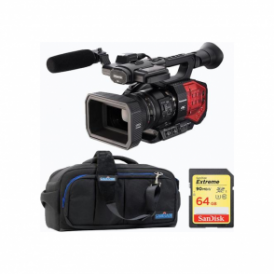 Panasonic PAN-AGDVX200 4K 4/3 type Fixed lens Camcorder package b