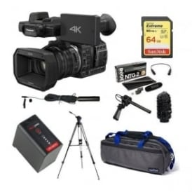 HC-X1000 4K Ultra HD Camcorder Package E + FREE microphone