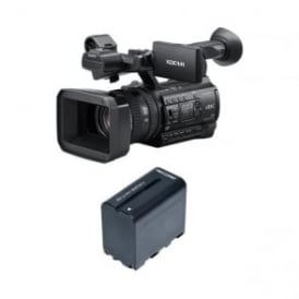 PXW-Z150//C 1.04K Handy Camcorder with RedPro battery Package A