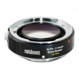 Metabones MB_SPALPA-X-BM2 ALPA to Xmount Speed Booster ULTRA 0.71x Black Matt