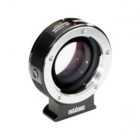 MB_SPMD-X-BM2 Minolta MD to X-mount Speed Booster ULTRA 0.71x Black Matt