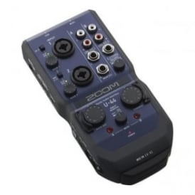 Zoom U44 Handy 4-In/4-Out Audio Interface
