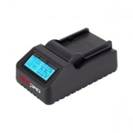 Redpro RP-DC40 Single Digital LCD Battery Charger for Photo & Video