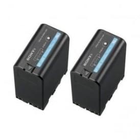 Sony 2BP-U60 2x High Capacity 14.4v / 56Wh / 3.8Ah Li-Ion Battery