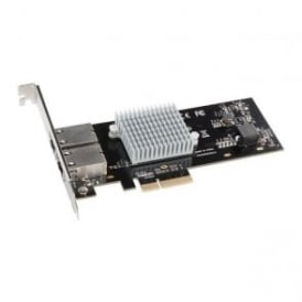 SON-G10E2XE3 Presto 10G Base-T Ethernet 2 Port PCIe Card