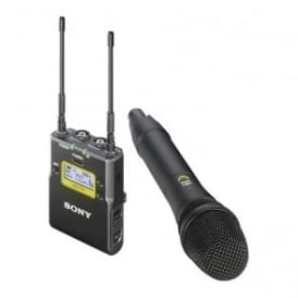 Sony UWP-D12/K21 Integrated Digital Wireless Handheld Microphone ENG System