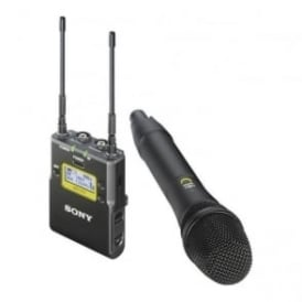 Sony UWP-D12/K42 Integrated Digital Wireless Handheld Microphone ENG System