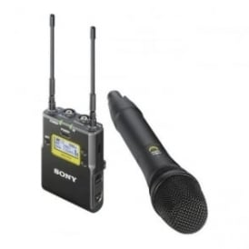 Sony UWP-D12/K51 Integrated Digital Wireless Handheld Microphone ENG System