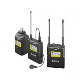 UWP-D16/K21 Integrated Digital Plug-on & Lavalier Combo Wireless Microphone System