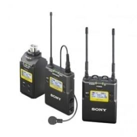 Sony UWP-D16/K51 Integrated Digital Plug-on & Lavalier Combo Wireless Microphone System