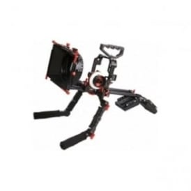 CAME-GH4-5KIT Protective Cage For GH4 Camera Rig W/ Hand Grip Support