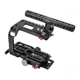 HT-FS7-1 Sony PXW FS7 Rig Include Cage Handle Baseplate
