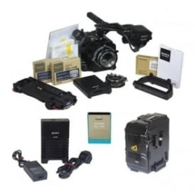 PMW-F55 CAMERA, ACCESSORIES & RECORDER PACKAGE, 728 hours, USED