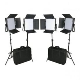 CAME-TV L1024S4KIT High CRI Bi-Color 4 X 1024 LED Video Lights TV Lighting
