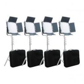 L900S4KIT High CRI Bi-Color 4pcs 900 LED Video Lights Studio Film Lighting