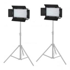 L576S2KIT 2X576 LED Light Dimmable Bi-Color 5600K 3200K Digital Display