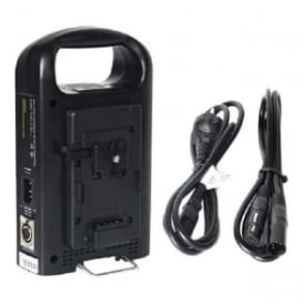 CM-2KS Battery Charger And Power Supply 2 Channel For Camera