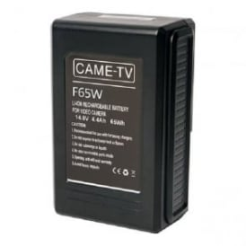 CAME-TV F65W Compact V-Mount Li-Ion Battery 65Wh