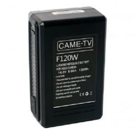 CAME-TV F120W Compact V-Mount Li-Ion Battery 120Wh