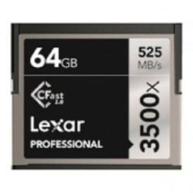 LC64GCRBEU3500 64GB 3500x Pro Cfast 2.0 - 525MB/s