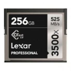 LC256CRBEU3500 256GB 3500x Pro CFast 2.0 - 525MB/s