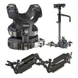 CAME-TV LBCASEKIT 2.5-15kg Load Pro Camera Steadicam With Aluminum Case