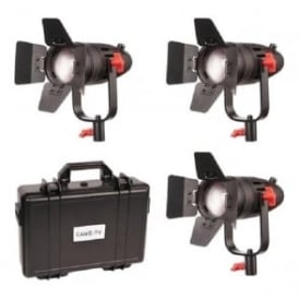 B30-3KIT 3 Pcs Boltzen 30w Fresnel Fanless Focusable Led Daylight
