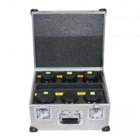 "S4i mini Lens in flight cases 18,25,32,50,75,100mm"" Used"