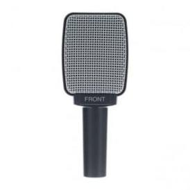 500074 e609 Silver Dynamic Guitar Microphone