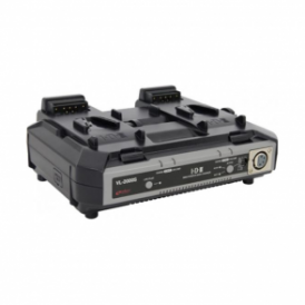 IDX VL-2000S Simultaneous Quick Charger with 100W DC Output - 2ch