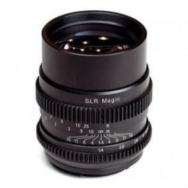 SLR Magic SLR-7514FE Cine 75mm f/1.4 FE Lens - Sony E-Mount