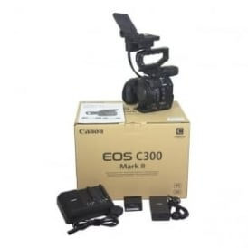Canon  C300 MK II Camcorder Package 70 Hours,Used