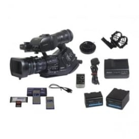 PMW-EX3 Camcorder kit with accessories, 1000 hours,  Used