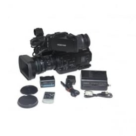 PMW-300k1 Camcorder with accessories 361 hours, Used
