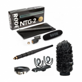 Rode NTG2 Microphone Package C