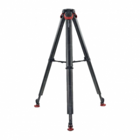 Sachtler Tripod System with Flowtech 75 MS Tripod Legs, Mid-Level Spreader and Rubber Feet